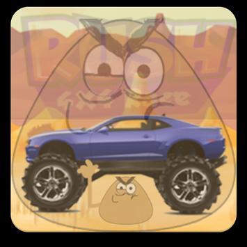 Angry POU-POU Drives Ahead screenshot 3