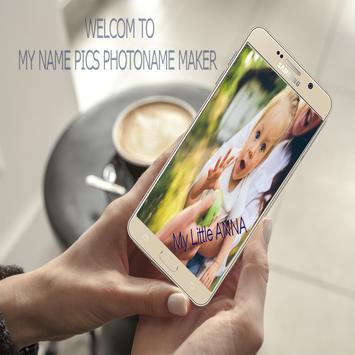 My name pics/ Write On Photos poster
