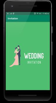 Best Wedding Invitation Free Card Maker :Save Date poster