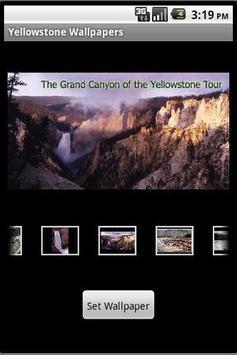 Yellowstone Wallpapers apk screenshot