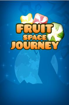 Fruit Space journey poster
