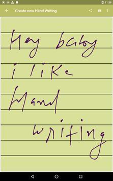 Handwriting screenshot 4