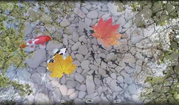 Water Garden Live Wallpaper Apk Screenshot