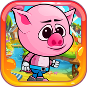 Bacon Peppa Super Pig icon