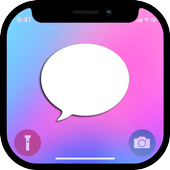 iMessenger: Message IOS 11 style Phone X icon