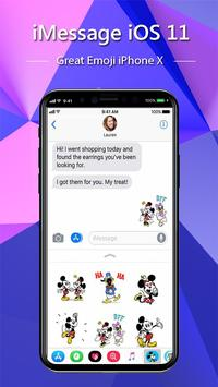 iMessenger: Message IOS 11 style Phone X screenshot 4