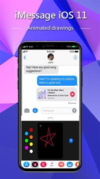 iMessenger: Message IOS 11 style Phone X screenshot 1