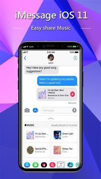 iMessenger: Message IOS 11 style Phone X screenshot 2