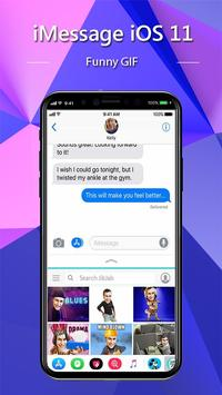 iMessenger: Message IOS 11 style Phone X screenshot 3