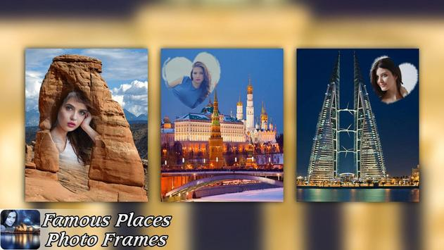 Famous Places Photo Frames apk screenshot