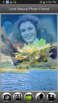 Love Nature Photo Frame screenshot 1