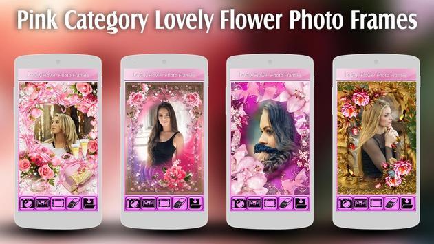 Lovely Flower Photo Frames apk screenshot