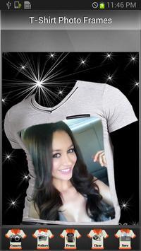 T-Shirt Photo Frames apk screenshot