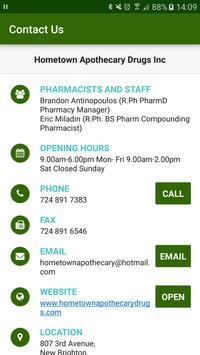 Hometown Apothecary Drugs Inc screenshot 1