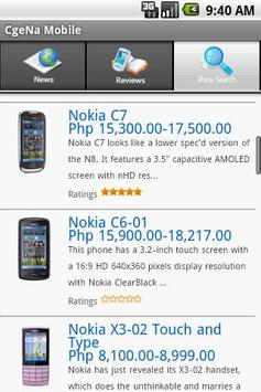 CgeNa Gadget Price Search poster