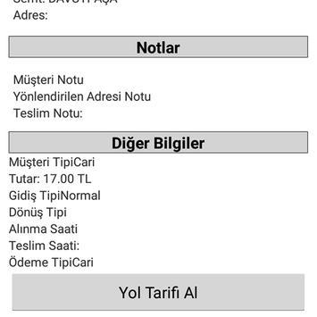 POİNT KURYE - MOTO KURYE screenshot 3