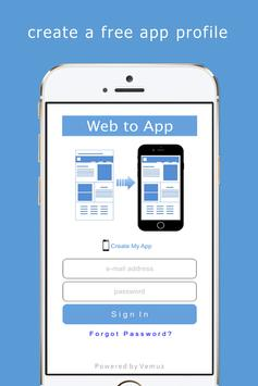 Web to App poster