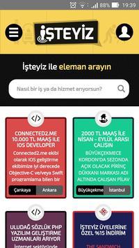 İşteyiz - Hizmet & İş İlanları poster