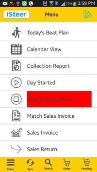 iSteer Sales Force screenshot 2