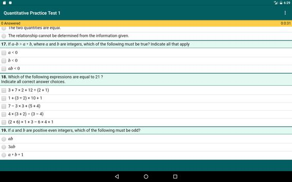 GRE Practice Tests for Android - APK Download