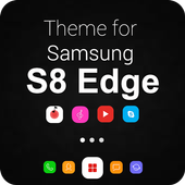 Theme for Samsung S8, Galaxy s8 Launcher icon