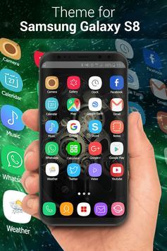 Theme for Samsung S8, Galaxy s8 Launcher screenshot 4
