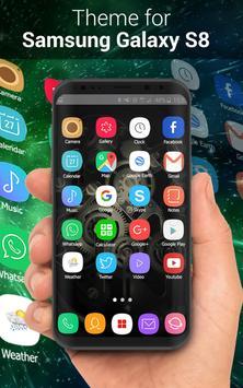 Theme for Samsung S8, Galaxy s8 Launcher screenshot 7