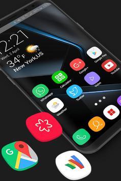 Theme for Samsung S8, Galaxy s8 Launcher screenshot 1