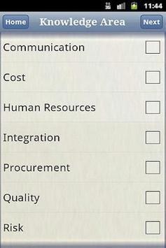 iStudy PMP Free apk screenshot
