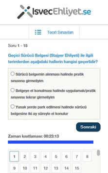 Isvec Ehliyet screenshot 3