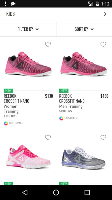 0ad871f82947cb Shopping in - Reebok for Android - APK Download