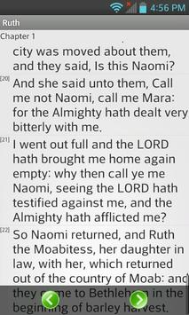 Bible KJV English apk screenshot