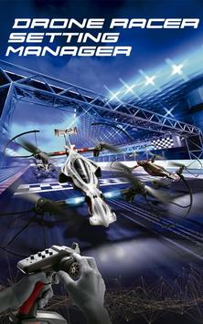 DRONE RACER Setting Manager poster