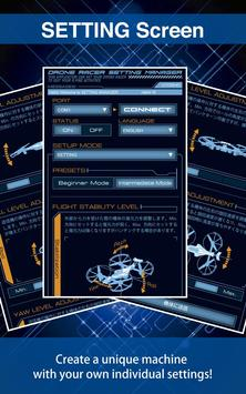 DRONE RACER Setting Manager screenshot 2