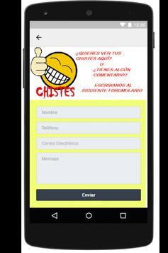 Chistes Cortos y Graciosos app apk screenshot