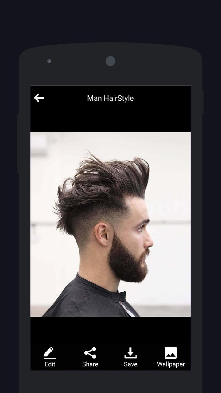 Man Hairstyles 2018 Latest Men Hairstyle Photos For Android Apk
