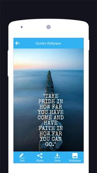 Quotes Motivational Wallpaper - Inspirational screenshot 3