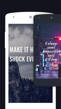 Quotes Motivational Wallpaper - Inspirational screenshot 4