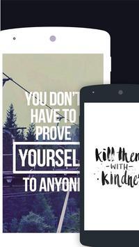 Quotes Motivational Wallpaper - Inspirational screenshot 5
