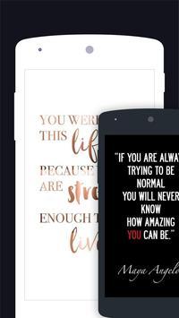 Quotes Motivational Wallpaper - Inspirational screenshot 6