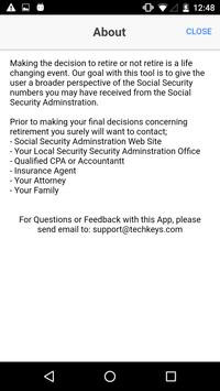 Social Security What IF screenshot 5