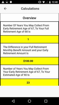 Social Security What IF screenshot 3