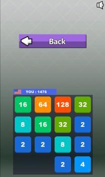 2048 BATTLE - multiplayer game apk screenshot