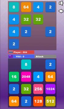2048 BATTLE screenshot 7