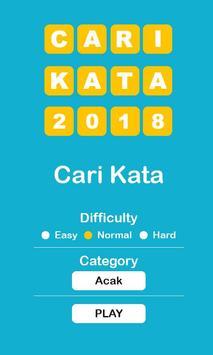 Cari Kata 2018 poster