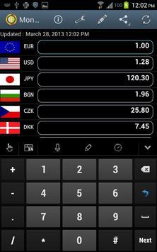 Money Changer screenshot 1
