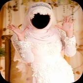 Hijab Royal Wedding Photo Maker icon