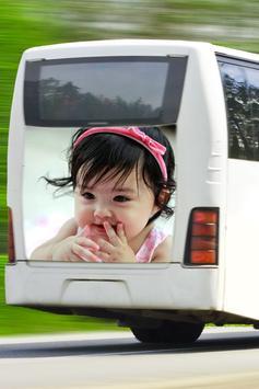 Modern Bus Photo Frame Editor screenshot 8