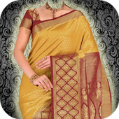 Woman Saree Photo Editor icon