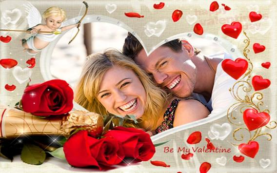 valentines day photo editor poster